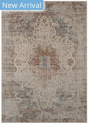 Karastan Tryst Dorset Cream - Light Grey Area Rug