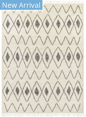 Karastan Latitudes Chronicle Marrakech Cream - Charcoal Area Rug