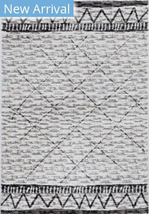Kas Elements 6554 Ivory - Mocha Area Rug