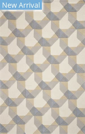 Kas Eternity 1060 Ivory - Grey Area Rug
