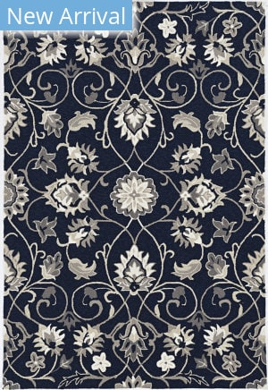 Kas Harbor 4206 Navy Manor Area Rug