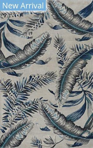 Kas Havana 2626 Grey - Blue Area Rug