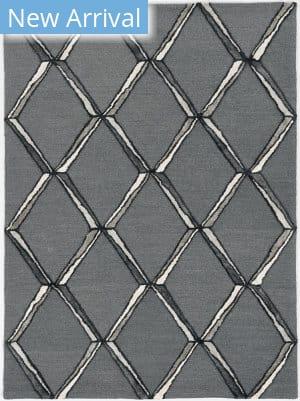 Kas Libby Langdon Upton 4308 Charcoal - Silver Area Rug