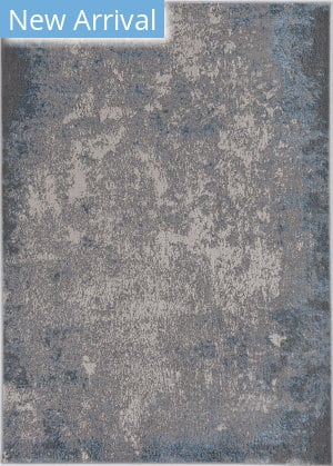 Kas Luna 7131 Silver - Blue Natural Area Rug