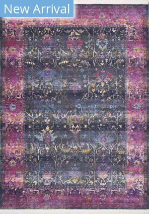 Kas Papillon 4528 Charcoal Area Rug