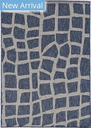 Kas Provo 5763 Blue - Grey Bedrock Area Rug