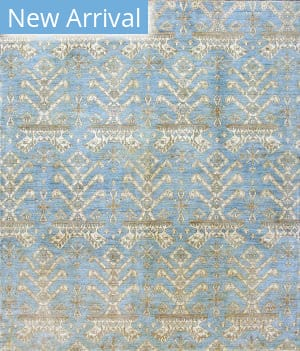 Kashee Lahore Oak Light Blue Area Rug