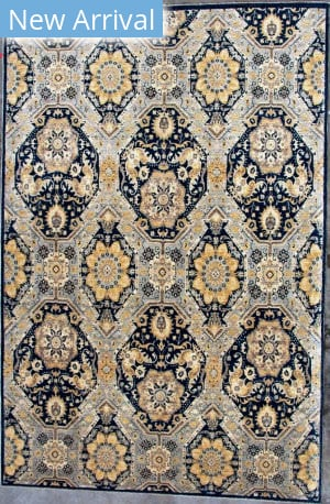 Kashee Lahore OAK Blue Area Rug