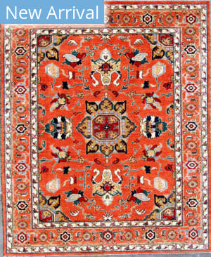 Kashee Taro OAK Rust Area Rug