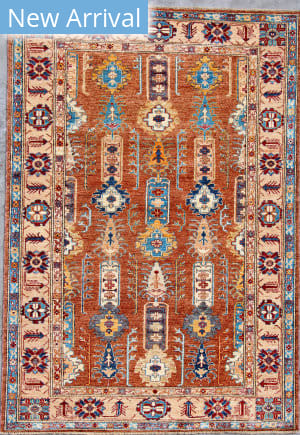 Kashee Royal Kazak OAK Brown - Beige Area Rug