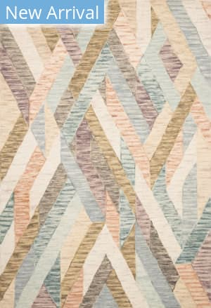 Loloi Hallu By Justina Blakeney Hal-03 Sunrise - Mist Area Rug