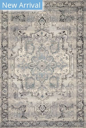 Loloi Mika Mik-01 Grey - Blue Area Rug