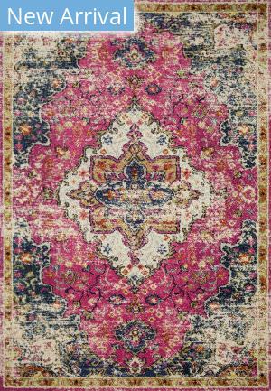 Loloi II Nadia Nn-04 Pink - Midnight Area Rug