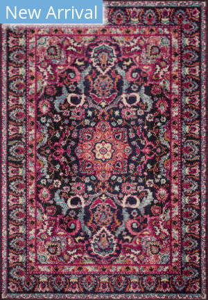 Loloi II Nadia Nn-06 Midnight - Pink Area Rug