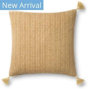 Loloi Pillows P0813 Gold Area Rug