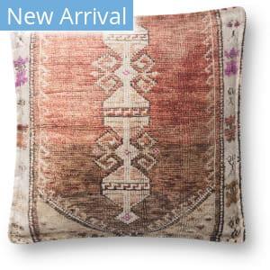 Loloi Pillows P0823 Rust - Multi Area Rug