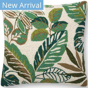 Loloi Pillows P0752 Green - Multi