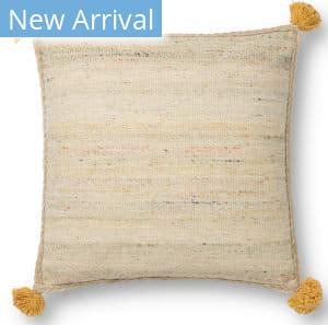 Loloi Justina Blakeney Pillows P0804 Beige - Multi Area Rug