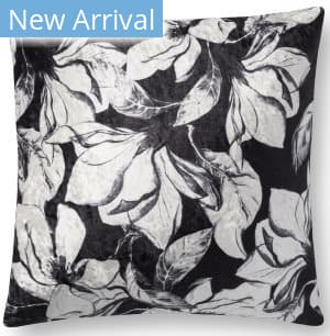 Loloi Pillows P0754 Black - White