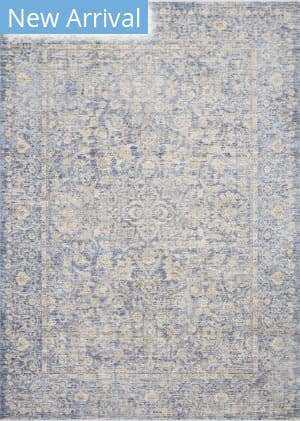 Loloi Pandora Pan-01 Blue - Gold Area Rug