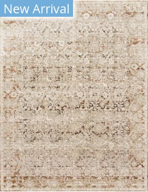 Loloi Theia The-07 Natural - Rust Area Rug