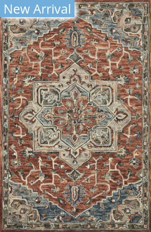 Loloi Victoria Vk-15 Red - Multi Area Rug