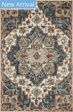 Loloi Victoria Vk-16 Blue - Red Area Rug