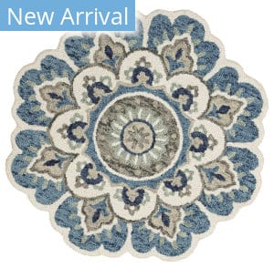 Lr Resources Dazzle 54094 Blue Area Rug