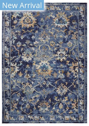 Lr Resources Gala 81275 Indigo Multi Area Rug
