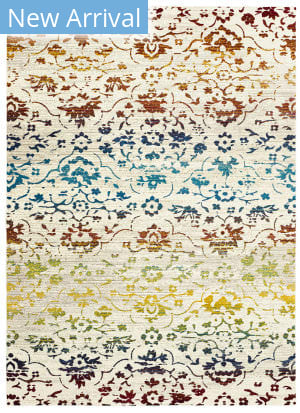 Lr Resources Gala 81278 Red Multi Area Rug