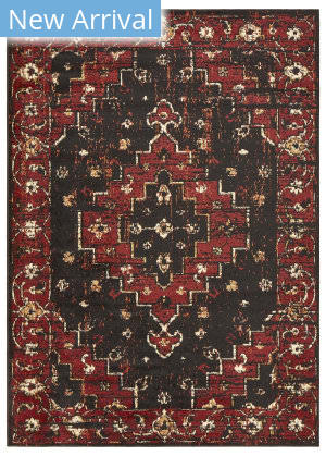 Lr Resources Infinity 81312 Black - Beige Area Rug