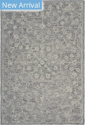 Lr Resources Juniper 81571 Silver Gray Area Rug