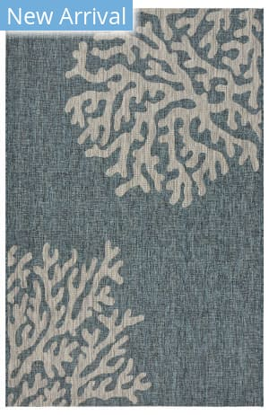 Lr Resources Captiva 81022 Blue - Gray Area Rug