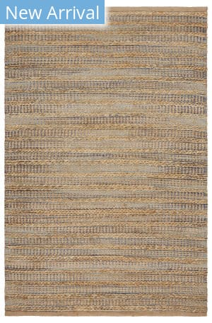 Lr Resources Natural Fiber 03318 Aqua - Navy Area Rug