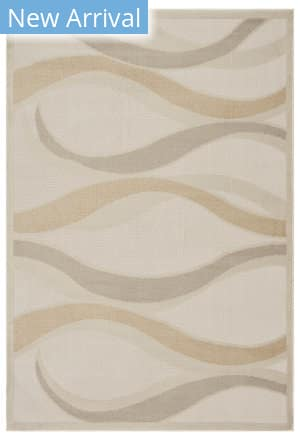 Lr Resources Tranquility 81369 Fungi - Moonrock Area Rug