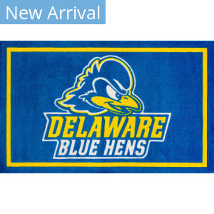 Luxury Sports Rugs Team University Of Delaware Blue Area Rug