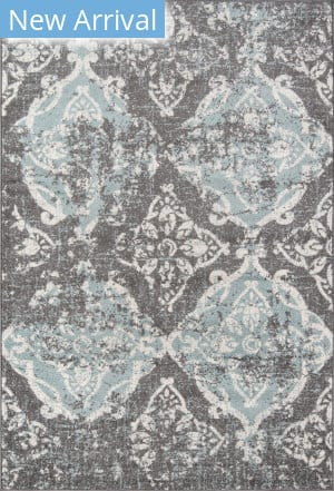 Momeni Ellsworth ELL-2 Grey Area Rug