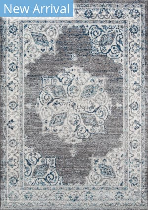 Momeni Haley HAL-7 Grey Area Rug