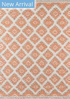Momeni Harper HAR-1 Orange Area Rug
