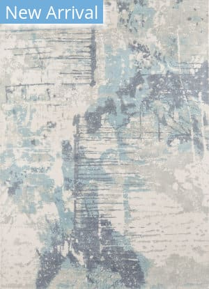 Momeni Illusions IL-04 Blue Area Rug