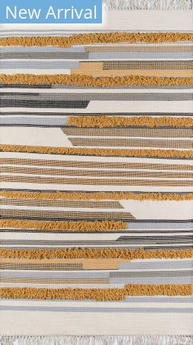 Momeni Indio IND-6 Mustard Area Rug