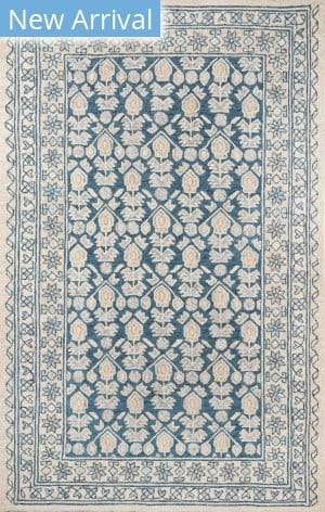 Momeni Tangier TAN38 Blue Area Rug
