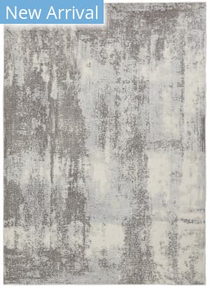 Nourison Etchings Etc02 Grey - Light Blue Area Rug
