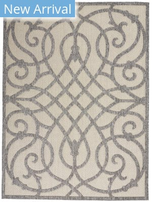Nourison Cozumel CZM04 Cream Grey Area Rug