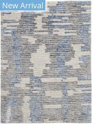 Nourison Ellora Ell01 Blue Area Rug