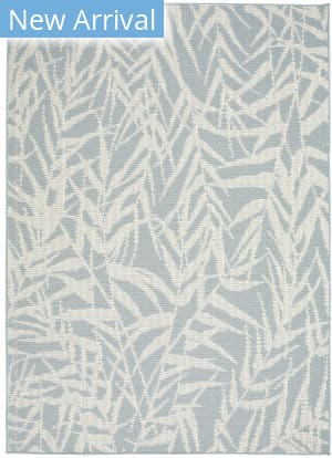 Nourison Aruba Arb06 Light Blue - Cream Area Rug