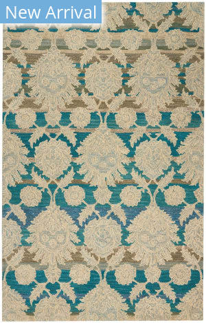 Nourison India House Ih91 Ivory - Teal Area Rug