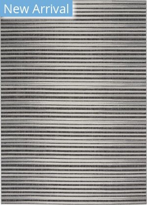 Nourison Key Largo KLG01 Dark Grey Area Rug