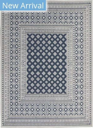 Nourison Key Largo KLG02 Blue Area Rug