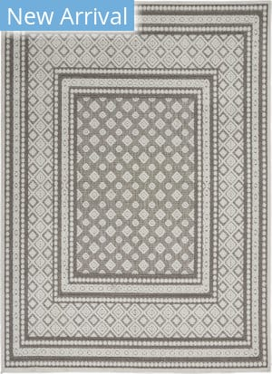 Nourison Key Largo KLG02 Light Grey Area Rug
